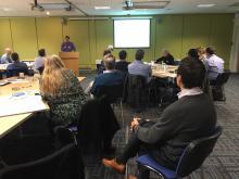 Clinicians at the IMPACT workshop, WGH, Edinburgh